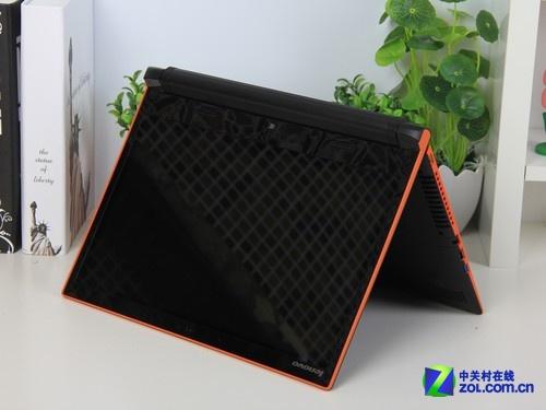 联想 Flex14橙色 外观图