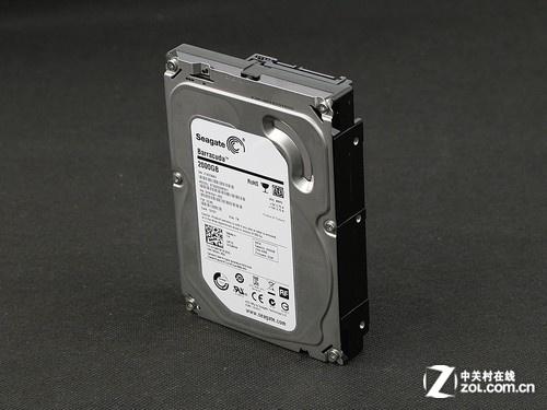 硬盘希捷 2TB 7200转 64MB(ST2000DM001)正面