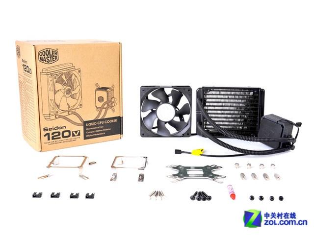 买散热器送硅脂 酷冷至尊海神120V促销