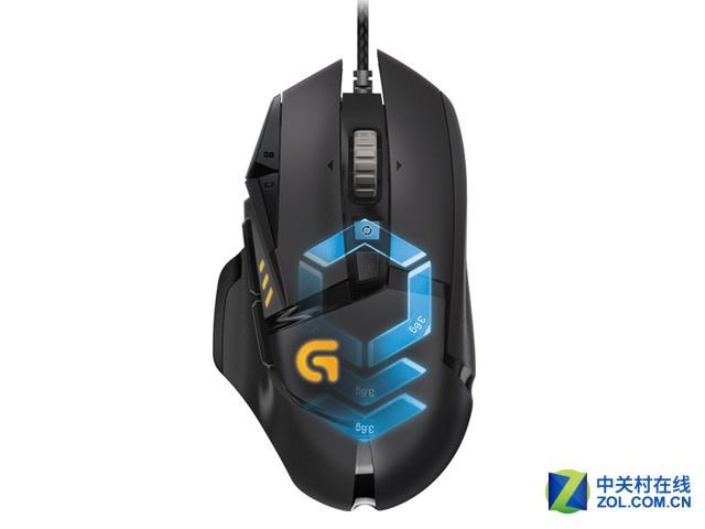 包邮特惠 罗技G502 RGB游戏鼠标485元