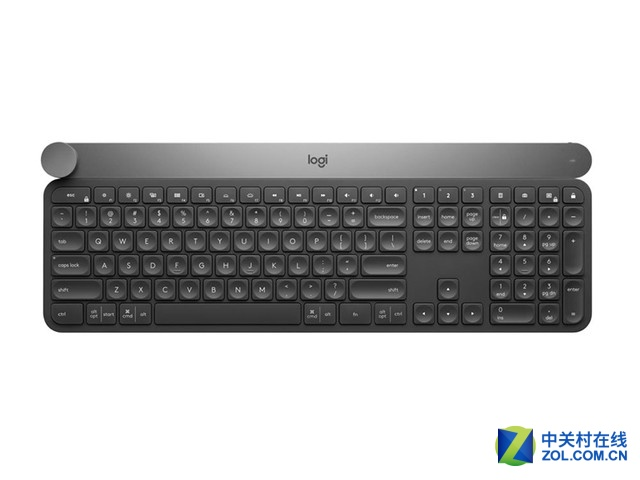 噪音更低 罗技Craft无线键盘售价1229元