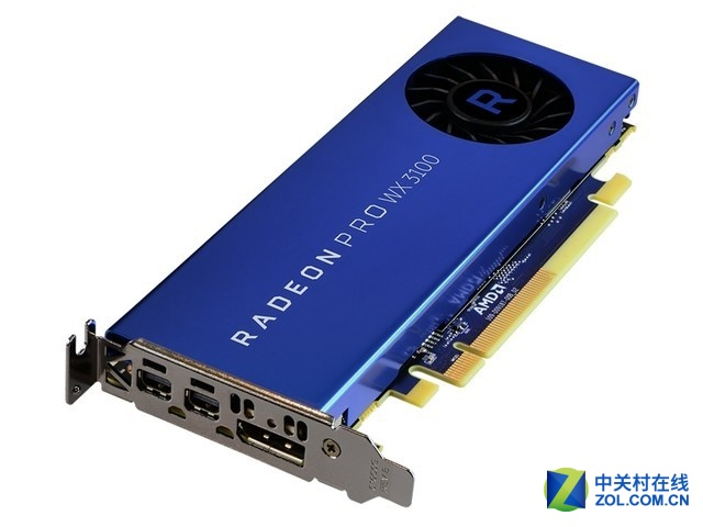专业显卡 AMD Radeon PRO WX3100售1299