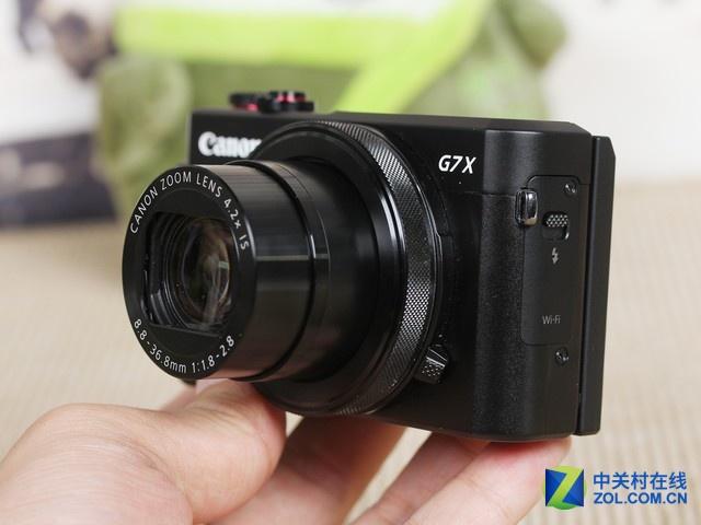 实用的4.2X变焦镜头 佳能G7XII京东促销
